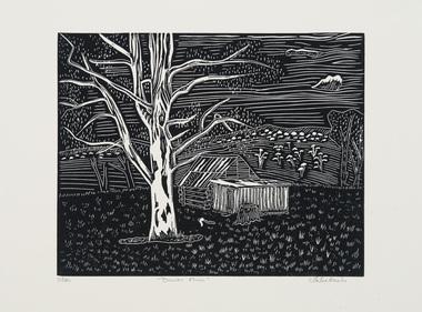 Print, Banks, Helen, Davies Plain, 2015