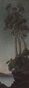 Painting, Merfield, Bertha, Landscape, c.1910s