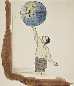 Lowit, Mr. Leo, Emigration to the whole world by Leo Lowit, c. 1944-45, 1944-45