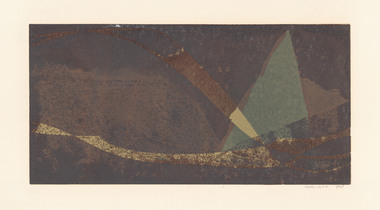 Print, HOS, Kees. Born 1916, The Hague, Holland, Untitled, Not dated
