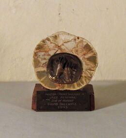 Stone/ Bronze Plaque, Untitled (Mazda-Montsalvat Jazz Festival), 1993