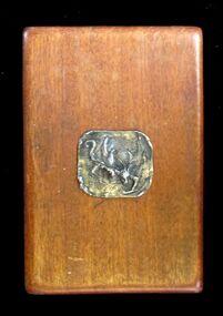 Bronze Medallion/Plaque, Untitled (Dragon)