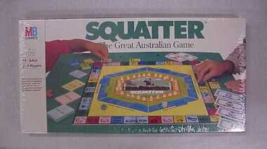 Game, Board, Squatter: the great Australian game