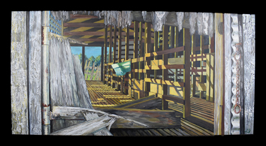 Painting, The White Farm, 2020/21