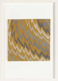 Textile, Tim Gresham, Resonance in Ochre, 2012