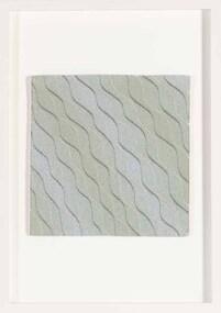 Textile, Tim Gresham, Ripple in Aqua, 2012