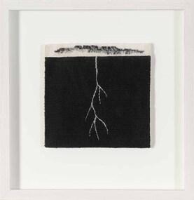 Textile, Valerie Kirk, Gum Leaf + Root