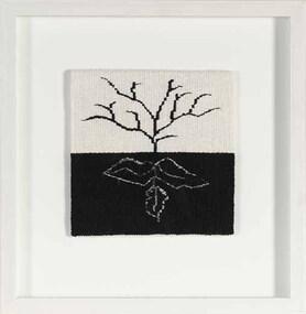 Textile, Valerie Kirk, Tree + Roots
