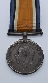 Medal - British War Medal, Ben Boyd's British War Medal