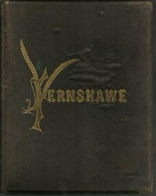 Book, Fernshawe- Sketches in Prose and Verse- By Patchett Martin- Melbourne Walker May and Co, 9 Mackillop Street- 1882