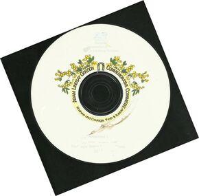 CD, Adam Lindsay Gordon Poetry Competition- 2008