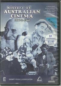 DVD, History of Australian Cinema- 1896-1940