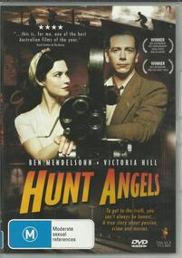 DVD, Hunt Angels- Film Outlaws Rupert Kathner and Alma Brooks- Late 1930's