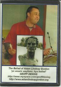 DVD, The Ballad of Adam Lindsay Gordon- Geoff Dening- From Ye Wearie Wayfarer