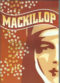 Programme, Programme for MACKILLOP The Musical- By Xavier Brouwer- Melbourne Sydney- 2010