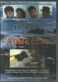 DVD, The Wreck of The Admella- Second Edition- Brenton Manser and Roger Tremelling