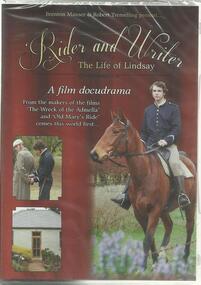 Film - DVD, Brenton Manser, Rider and Writer- The Life of Lindsay, 2014