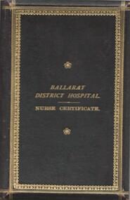 Priscilla Wardle - Trainee Ballarat District Hospital, 27/02/1905 to 01/03/1908  and WW1 Nurse - Certificates & Medals