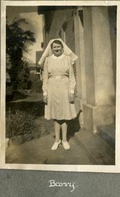 Sheila Prendergast Photo Album 1941-1944, commenced training June 1941