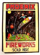 Phoenix Fireworks Sales Poster