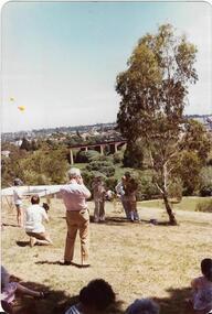Opening of Rangers Hut 1980, Rockbeare Park Conservation Group et al, 1980