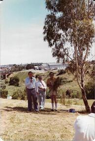 Opening of Rangers Hut 1980, Rockbeare Park Conservation Group, 1980