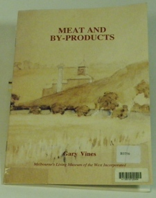 Booklet, Meat  and By-Products, 1993