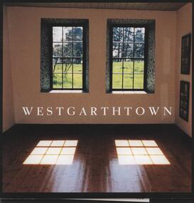 Book - Softcover book, Westgarthtown, 1998