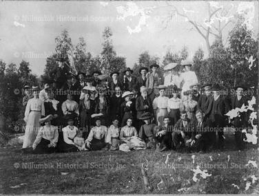 Church Group at a Picnic at Yan Yean 1910