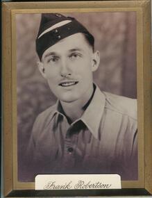 Photograph : Francis (Frank) Robertson RAAF Pilot WW2