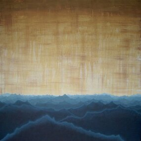 Painting, Amy Mills, Over Mountains Of Mist, 2012