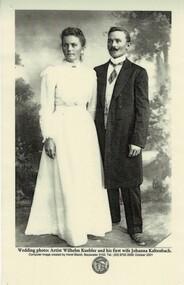 Photograph, Wilhelm and Johanna Kuebler