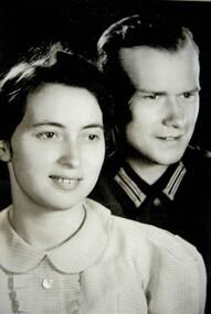 Photograph, Gerhard Schneider and wife