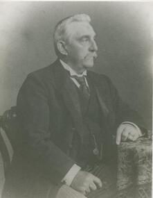 "Black and white photograph, Albert Austin, ""Eilyer"", 1834-1916"