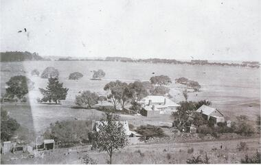 Black and white photograph, Wickliffe, c. 1900