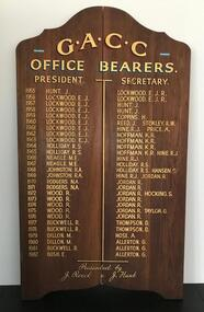 Honour Board, 1955