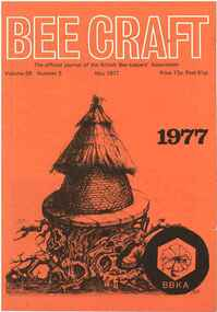 Publication, Bee Craft (British Bee-keepers' Association), Canterbury, 1977