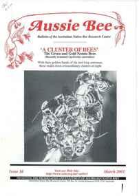 Publication, Aussie Bee (Australian Native Bee Research Centre), North Richmond, 2001