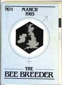 Publication, The Bee Breeder (British Breeders Association), Gainsborough, 1985