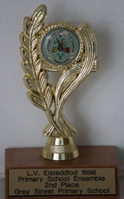 Trophy, LV Eisteddfod 1998 Primary School Ensemble 2nd Place
