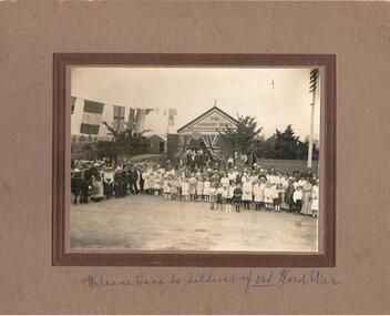Photograph, Circa 1918