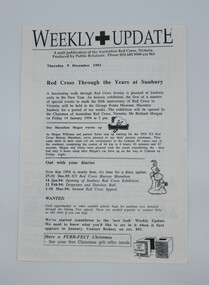 Magazine, Weekly Update, 9/12/1993