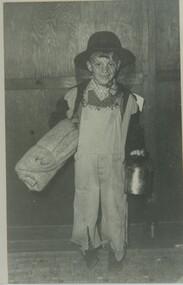 000921 - Photograph - 1966 - Inverloch - Preschool fancy dress ball - Ian Swift 6 years - from Hazel Swift