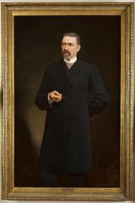 Portrait of Sir James Patterson, Coutts, Gordon 1865-1938, Premier James Patterson, 1893
