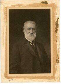 Photograph - Photographic Portrait, Mr Henry Henty, c.1890