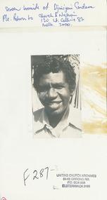 Photograph, Rev. Djiniyini Gondara, 06/1984