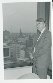 Photograph, Rev. Brian Howe MP, 1986