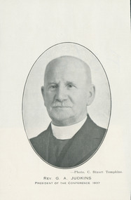 Photograph, Rev. GA Judkins President of the Conference 1937, 1937