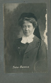 Photograph, Sister Bessie (Emma Elizabeth Dau), 1927
