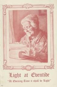 Program, Souvenir of the Holiness Convention, 1946